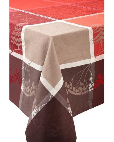 Garnier-Thiebaut Santa Klaus Tablecloth [Cerise]