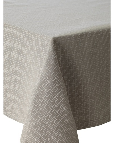 Garnier-Thiebaut Puzzle Tablecloth, Beige