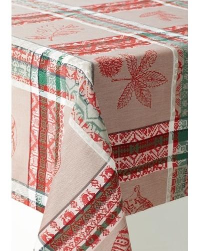Garnier-Thiebaut Mille Noël Chalet Tablecloth