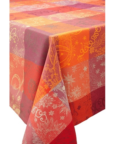 Garnier-Thiebaut Mille Couleurs Tablecloth [Feu]