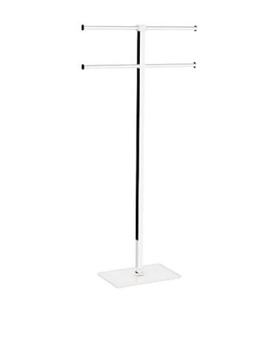 Gedy by Nameek's Floor Standing Towel Rack, White