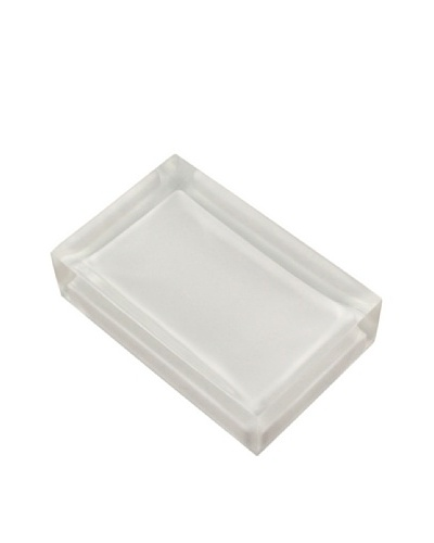 Gedy by Nameek's Decorative Soap Holder, White