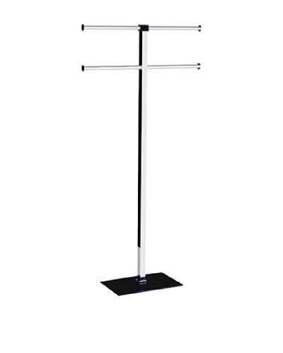 Gedy by Nameek's Floor Standing Towel Rack, Black