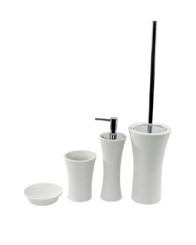Gedy by Nameeks Flaca Bathroom Accessory Set, WhiteAs You See