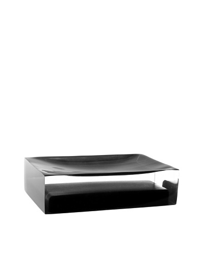 Gedy by Nameek's Decorative Soap Holder, Black