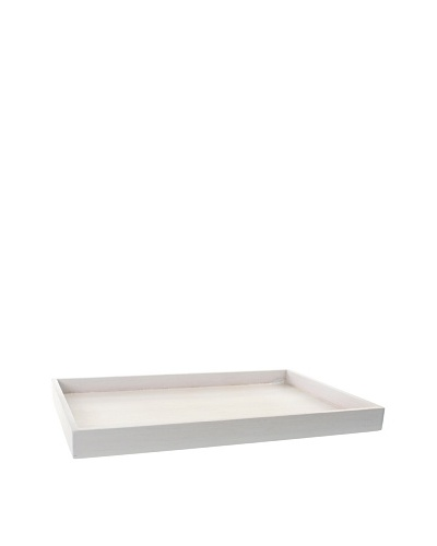 Gedy by Nameek's Rectangular Tray, White