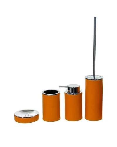 Gedy by Nameeks Vouge Bathroom Accessory Set, Orange