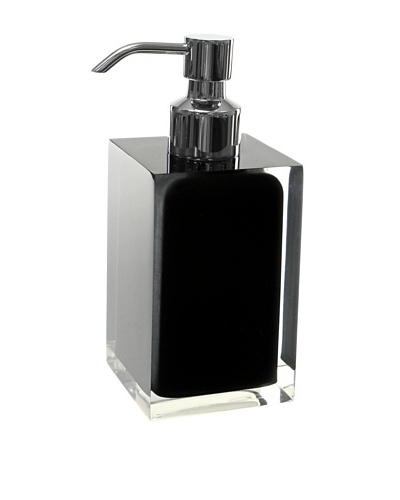 Gedy by Nameek's Square Toothbrush Holder, Black