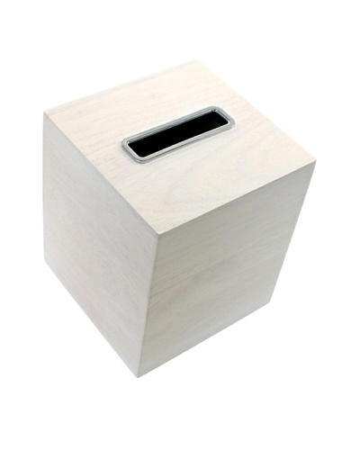 Gedy by Nameek's Tissue Box, White
