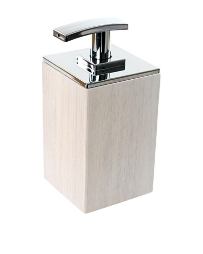 Gedy by Nameek's Short Soap Dispenser, White