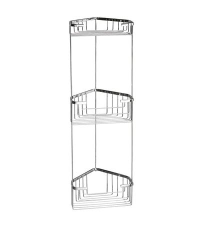 Gedy by Nameek's Wire Corner Triple Shower Basket
