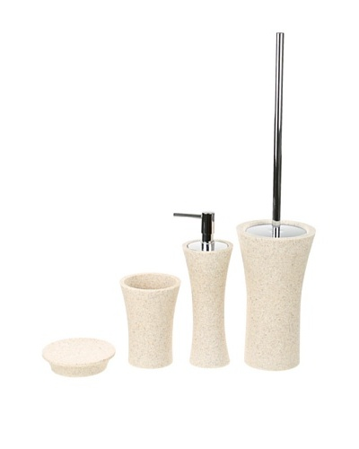 Gedy by Nameeks Flaca Bathroom Accessory Set, Natural SandAs You See