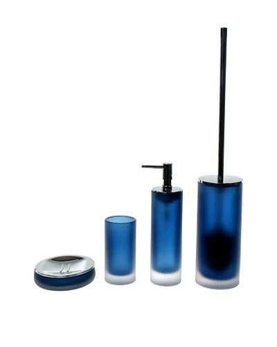 Gedy by Nameeks Baltic Bathroom Accessory Set, Blue