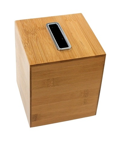 Gedy by Nameek's Square Tissue Box, Bambu