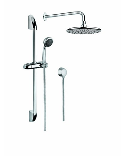 Gedy Superinox 5-Jet Handheld & 8.75 Rain Shower System