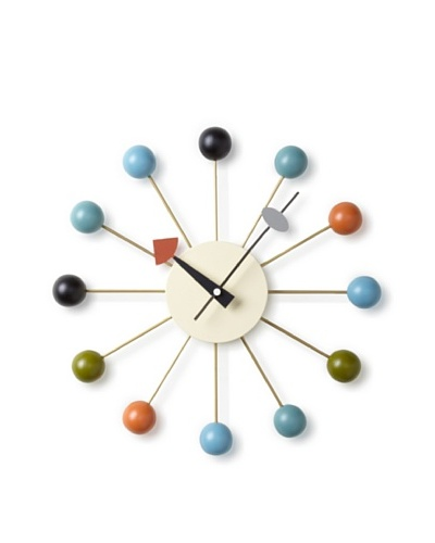 George Nelson Atomic Ball Wall Clock
