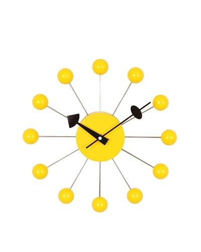 George Nelson Ball Clock, Yellow