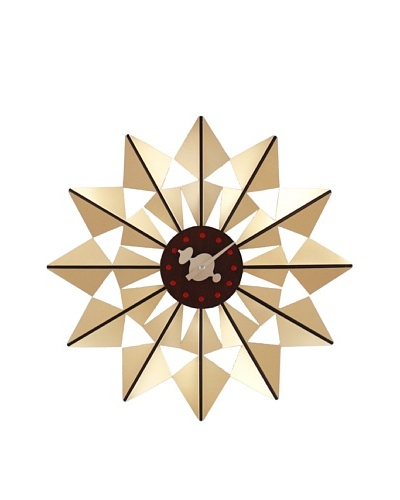 George Nelson Butterfly Clock, GoldAs You See