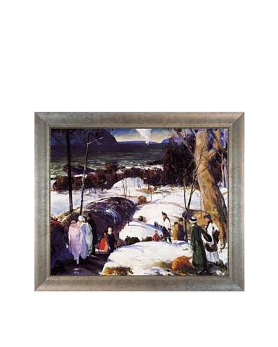 Easter Snow, 1915, George Wesley Bellows
