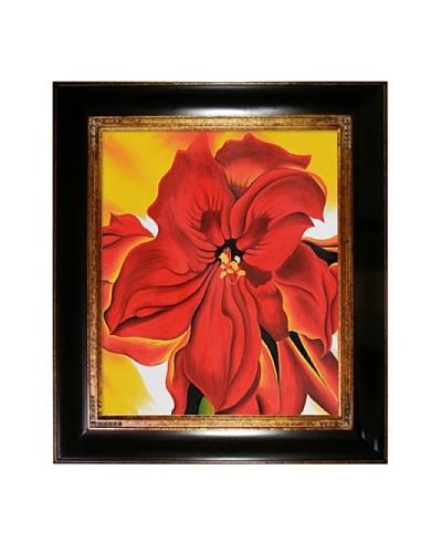 Red Amaryllis, Georgia O'Keeffe