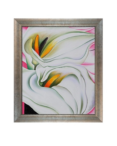 Two Calla Lilies on Pink, Georgia O'Keeffe