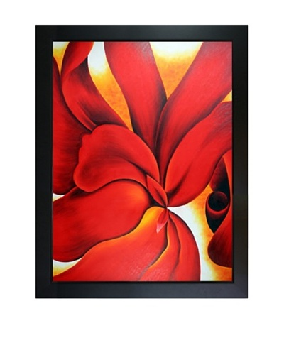 Red Cannas, Georgia O'Keeffe
