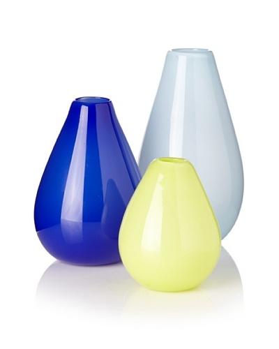 Set of 3 Teardrop I Vases