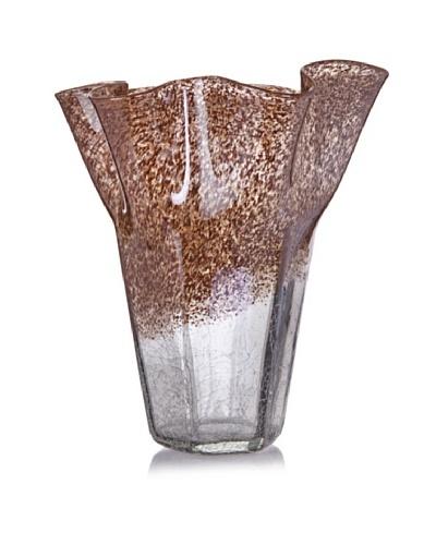 Harvest Earth Handkerchief Vase
