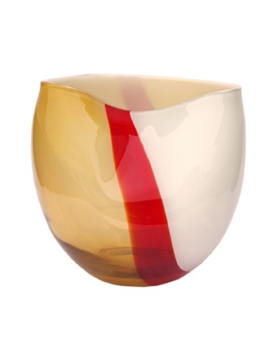 Glass Works Jozefina Ribbon Vase