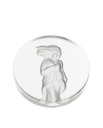 Glass Works Jozefina Paperweight Zodiak Virgo