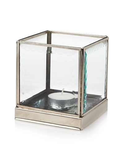 Jim Marvin Collection Cut Glass Tea Light Holder, 4.25