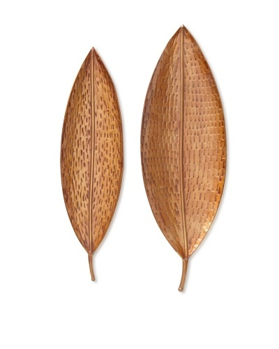 Indochine Set of 2 Sumai Leaves