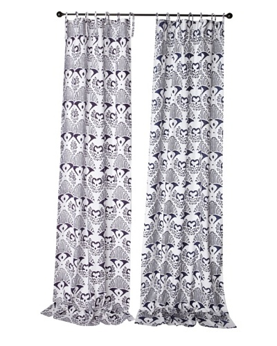 Kerry Cassill Set of 2 Printed Tie Panels