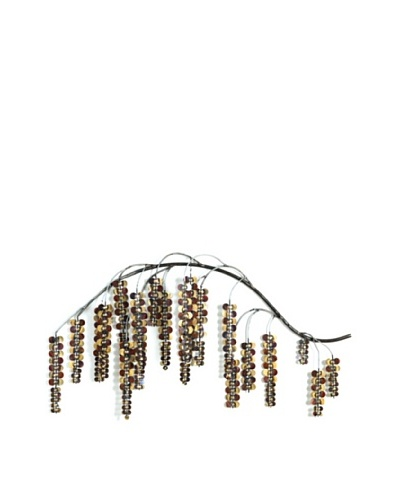 Global Views Brass Wisteria Branch Wall Hanging, Right