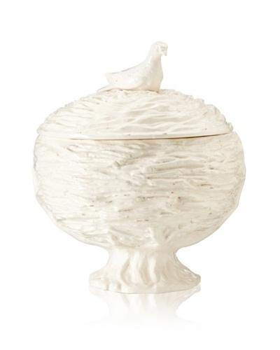 Global Views White Ceramic Nest Tureen