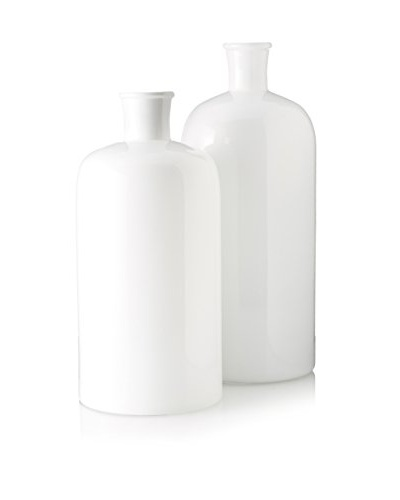 Go Home Set of 2 Bianco Vases