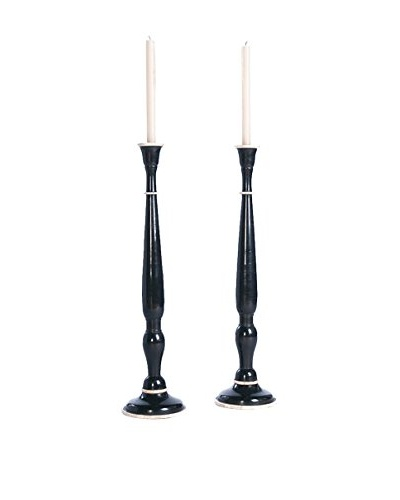 Go Home Set of 2 Sloan Candlesticks
