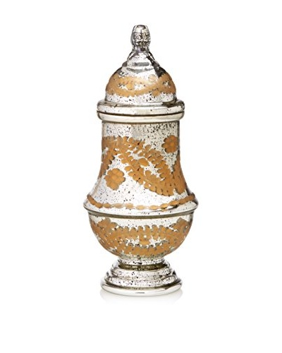 Go Home Sibyl Antique Gold Mercury Jar with Lid