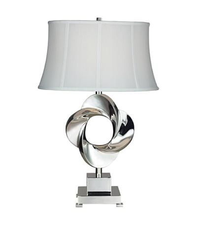 Dimond Lighting Burnham Table Lamp, Chrome