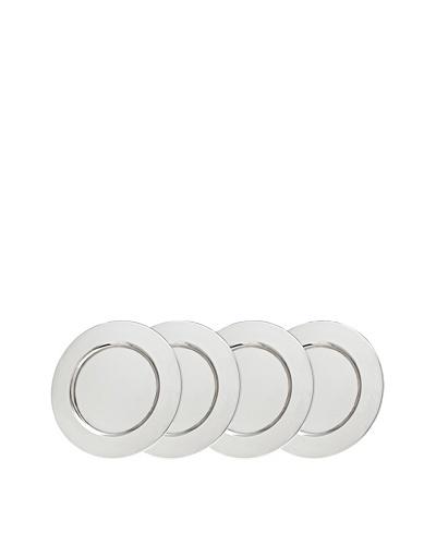 Godinger Set of 4 Beaded Service Plates