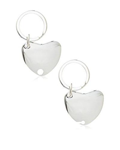 Godinger Double Heart Key Ring