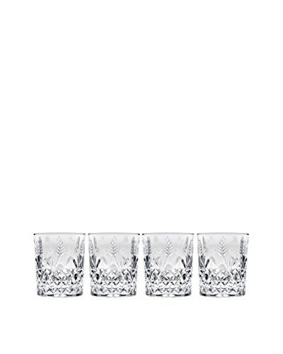 Godinger Set of 4 Stephanie 10-Oz. Double Old Fashioned Glasses