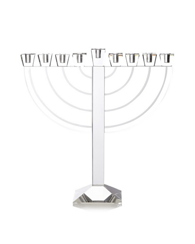 Godinger Jerusalem Etched Menorah
