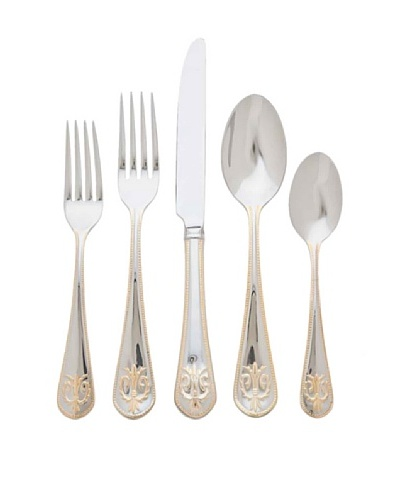 Godinger 20-Piece Edinburgh 18/10 Stainless Steel Flatware Set