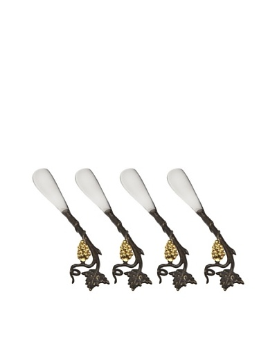Godinger Set of 4 La Vigna Spreaders
