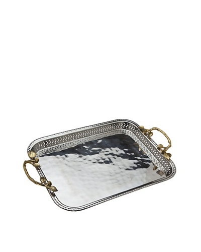 Godinger Leaf Gallery Tray