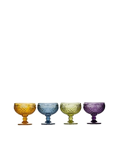 Godinger Set of 4 Assorted Cathedral Dessert Bowls