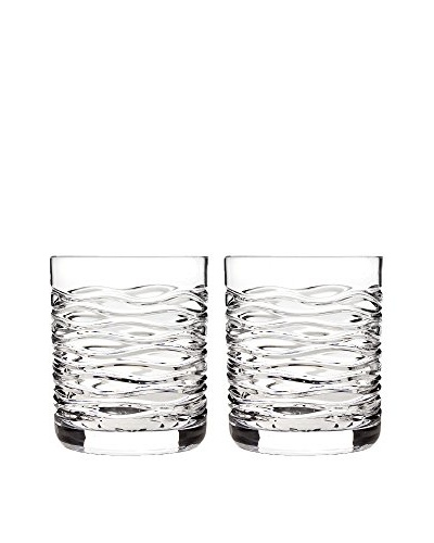 Godinger Set of 2 Dimensions Double Old Fashioned Glasses