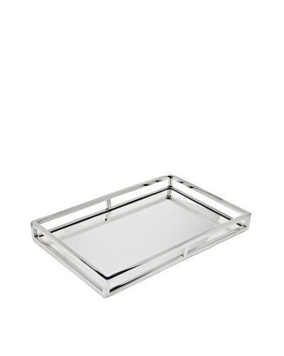 Godinger Large Aspen Rectangular Gallery Tray
