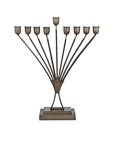 Godinger Menorah, Black Nickel